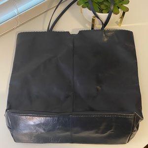 Latico Leather Navy Blue Carmen Handbag